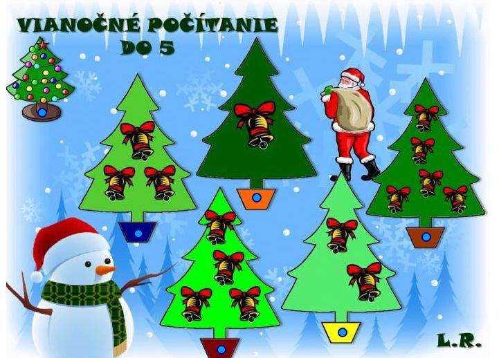 Vianočné počítanie do 5 (zvončeky) http://www.purposegames.com/game/vianocne-pocitanie-do-5-zvonceky-quiz