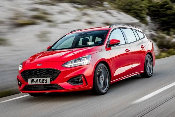 New Ford Focus St Line Estate 2018 Review Ford Focus St New Ford Focus Ford Focus
