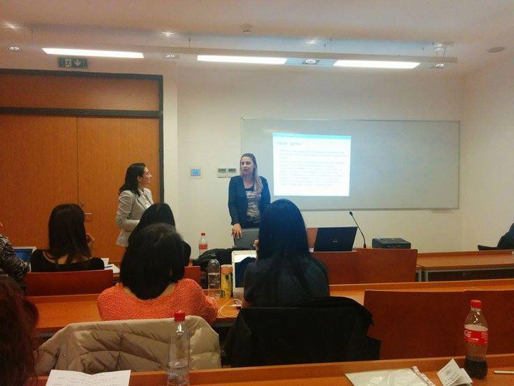 Jurnalism online cu Oana Sandu şi Ana Maria Ciobanu, invitatele din data de: 5.11.2014, la Masterul de Social Media şi Marketing Online. http://www.decatorevista.ro/
