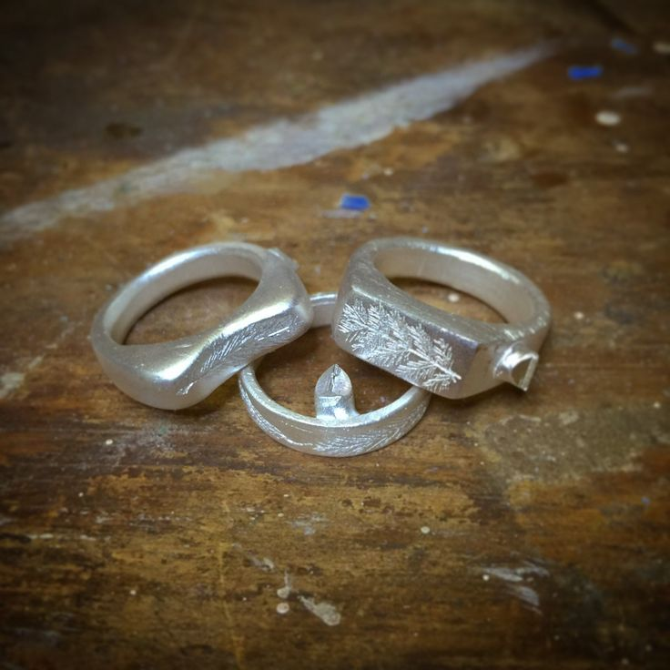 Raw Silver, ready to be finished by hand