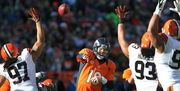The Cleveland Browns' 2015 schedule includes an opener against the New York Jets and non-division home games against Denver, Oakland, Tennessee, Arizona and San Francisco.