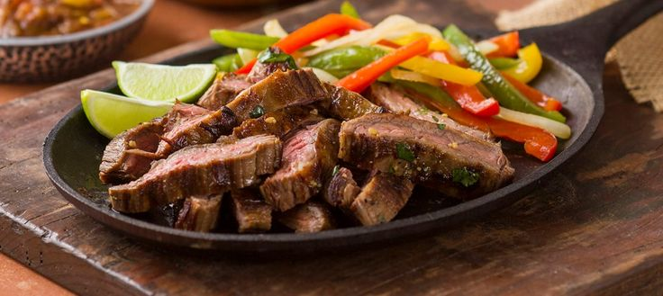 Guacamole Steak Fajitas