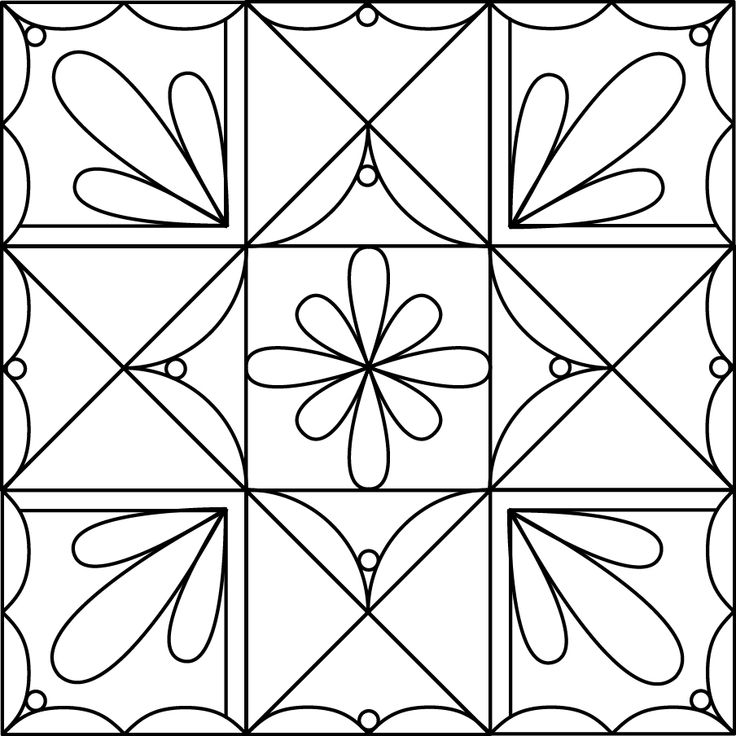 25 ideas for quilting Ohio Star blocks.