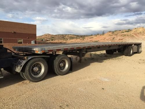 1996 Ravens Flatbed Trailer for sale by owenr on Heavy Equipment Registry  http://www.heavyequipmentregistry.com/heavy-equipment/16628.htm