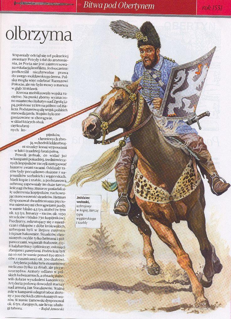 Reconstruction of a Wallachian horseman (16 century).