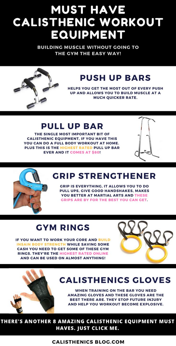 The Must Have Calisthenic Workout Equipment