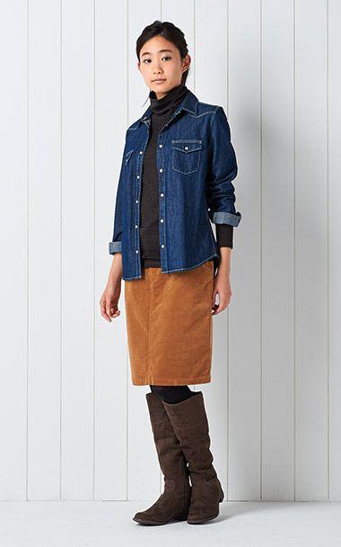 衣料品 2015 秋冬|コーディネートカタログ 婦人|無印良品ネットストア