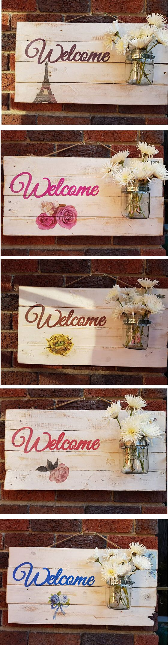 Various Welcome Boards for your entrance to your home