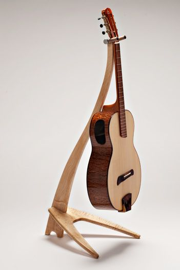 Guitar Stand Designs : Take a stand inc guitar stands fine wood