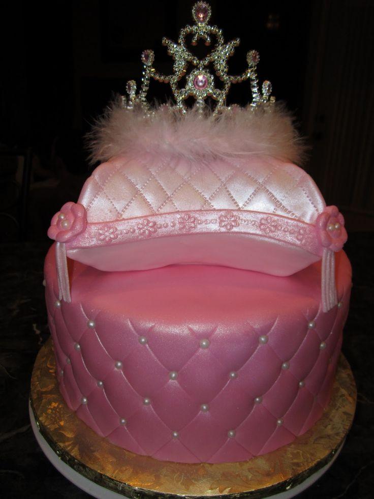 Princess Tiara Cake Ideas