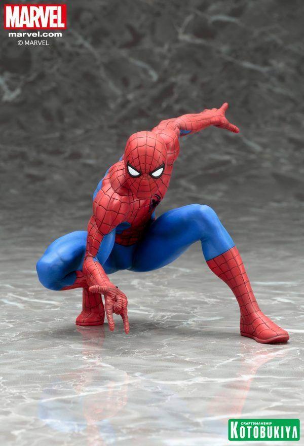 New Images: Kotobukiya Marvel Comics The Amazing Spider-Man ARTFX+ Statue
