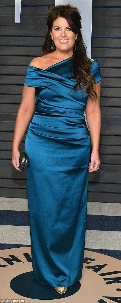 Viewing party disasters: Actress Clare Grant and activist Monica Lewinsky both failed to i...