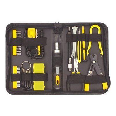 43 Piece Computer PC Repair Maintenance Electronics Electricians Tool Kit Set | eBay