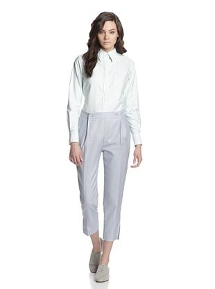 75% OFF Thom Browne Women's Popper Trouser (Light Blue)