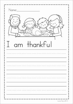 Thanksgiving Sight Word Flip Books (color and black and white)