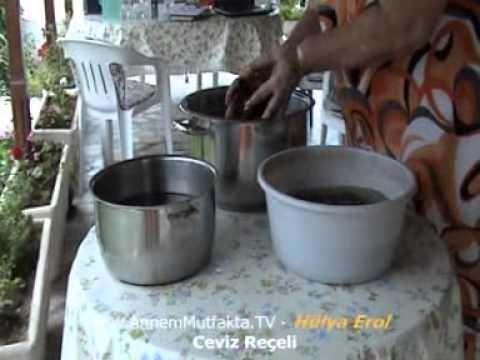Ceviz Reçeli Tarifi - YouTube