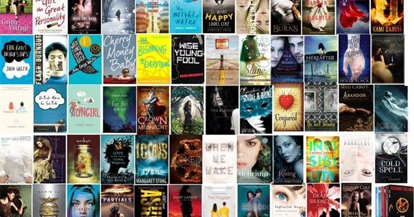 The top 100 young adult books according to Goodreads members' votes. Number one on this list is the number one voted, etc.