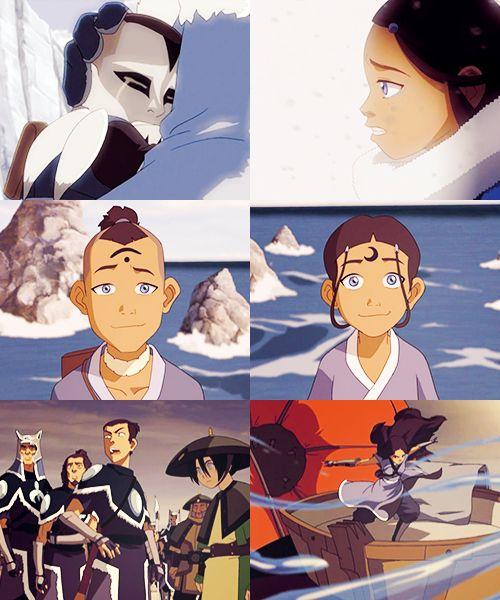 Team Avatar: Sokka & Katara: Southern Water Tribe