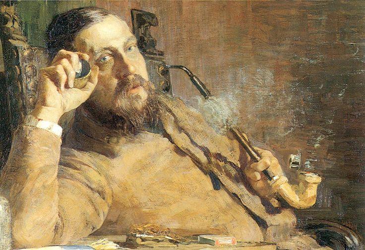 ritratto di Vittore Grubicy, 1887