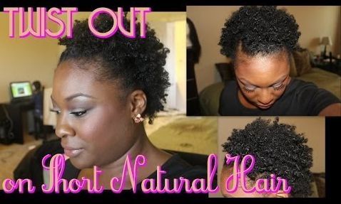 Twist-Out   17 Gorgeous Natural Hairstyles That Are Easy To Do On Short Hair