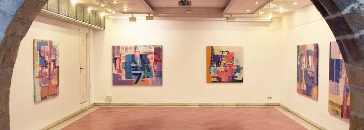 Oils on canvas. Centre Jujol -Can Negre. St. Joan Despí (Bcn) '15