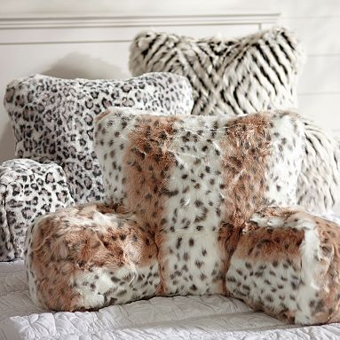 Fur Lounge Around Pillow Cover Pbteen Jaguar Is My Fave