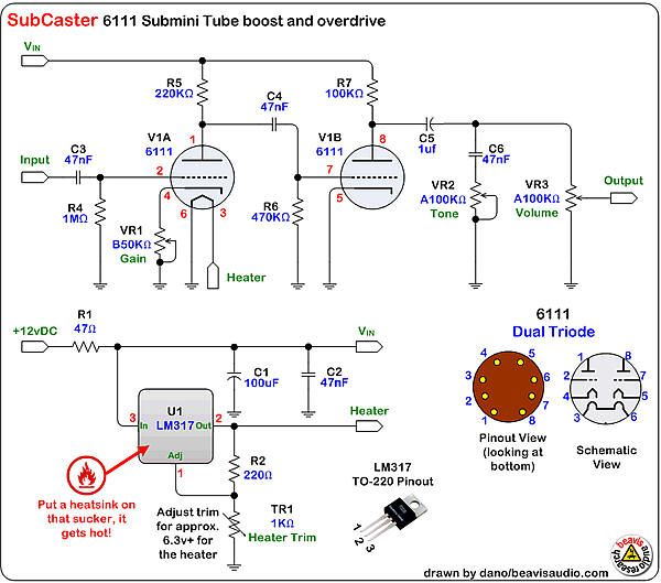 That Was Back In 2007 The Thread Is Now Over 150 Pages Long And Has A Lot Of Great Discussion On This Diy Guitar Amp Electronics Basics Diy Guitar Pedal