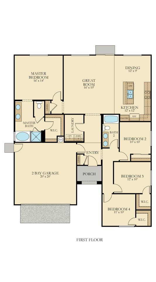 1000 Images About Lennar Floorplans Single Story On