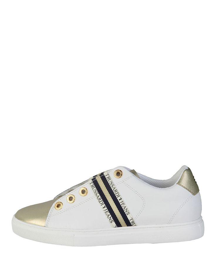 Sneaker donna  TRUSSARDI JEANS 79S523 Bianco - Primavera Estate - tita