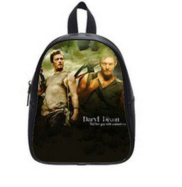 The Walking Dead Fans Backpack Large Size School Bag for High School Students Backpack for Travel @ niftywarehouse.com #NiftyWarehouse #WalkingDead #Zombie #Zombies #TV