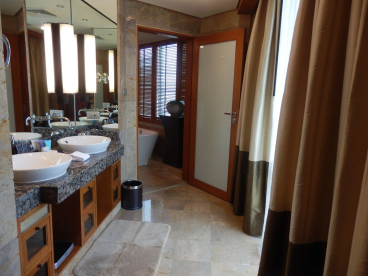 Powder Room in our suite at the Conrad Bangkok Hotel, Thailand
