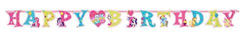 Amscan Ami 125513 My Little Pony Jumbo Add-An-Age Letter Banner, Ami 125513 1, Multicolored, 2015 Amazon Top Rated Banners, Streamers & Confetti #Kitchen