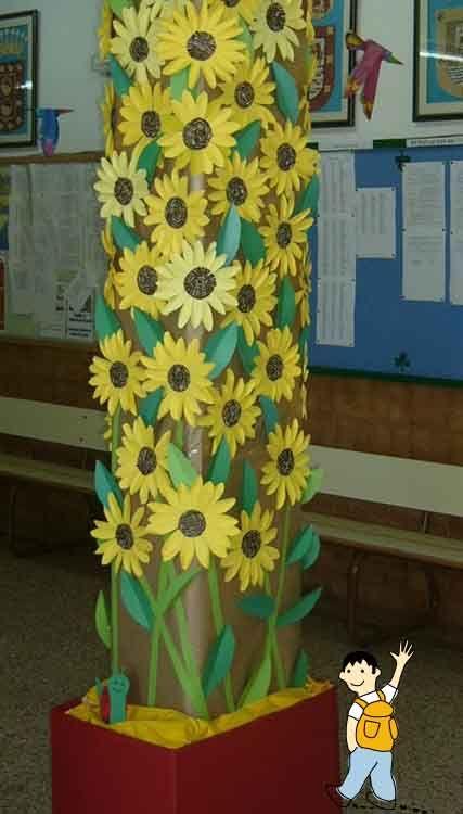 Recursos para decorar los rincones escolares con temas primaverales