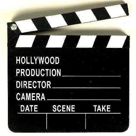 Filmklappe Hollywood