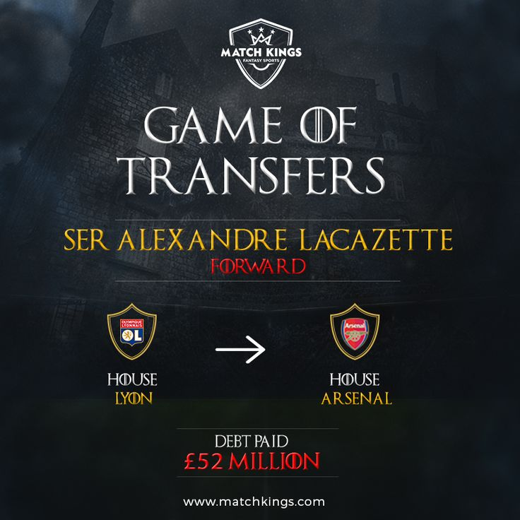 matchkingsClub record signing for Arsenal! Alexandre Lacazette joins a long list of French strikers to play for the Gunners! Will he be a Fantasy Football favourite? #MatchKhelo  #fantasysoccer #soccer #fantasyfootball #football #fantasysports #sports #pl #premierleague #fpl #fplindia #fantasyfootballindia #picoftheday #goal #score #stats #sportsgames #gamers #follow #transferwindow #transfermarket #transfernews #transfers #afc #arsenal #coyg #lyon