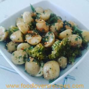 804 best food lovers recipes images on pinterest food lovers denzys rosemary and garlic baby potatoes with broccoli forumfinder Images