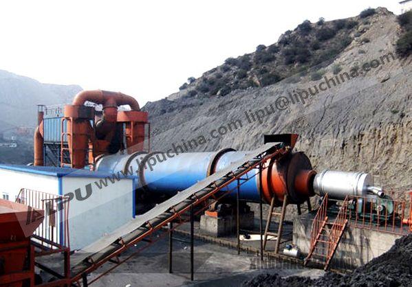coal slime dryer, Lipu