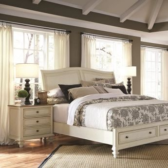 Master Bedroom Ideas Cottonwood Queen Sleigh Bed By Aspen Home At Kensington Furniture Perfect