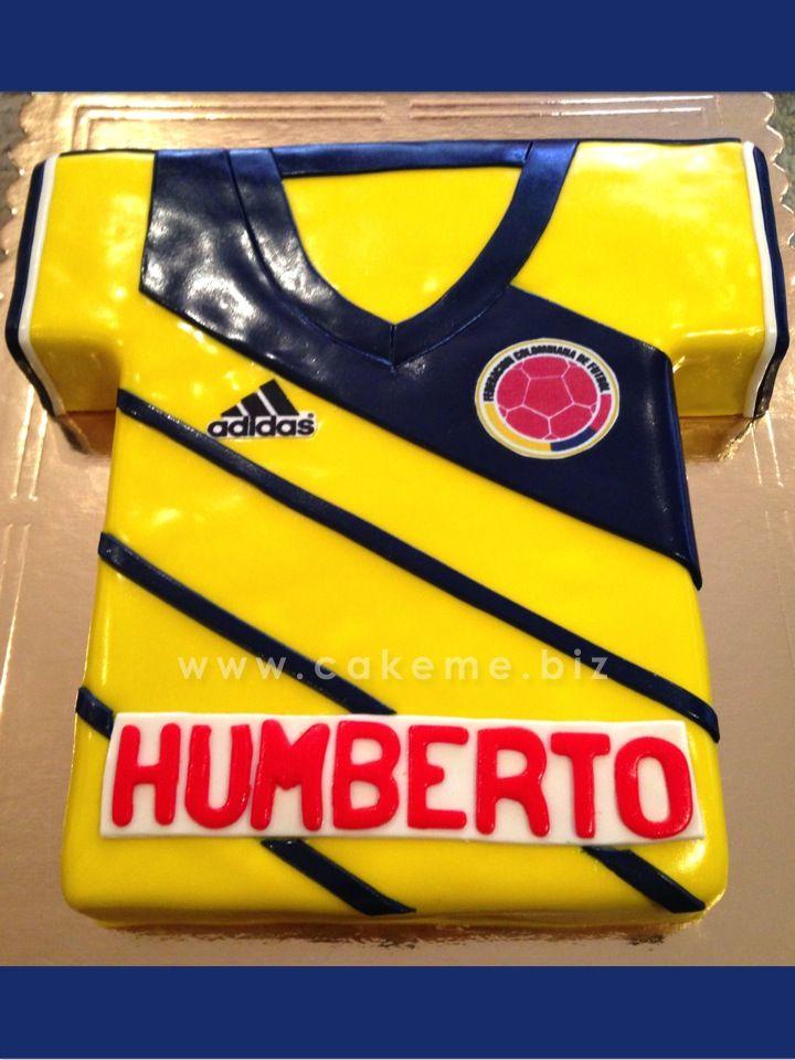 Humberto también celebró su cumpleaños con la camiseta de la Selección Colombia.