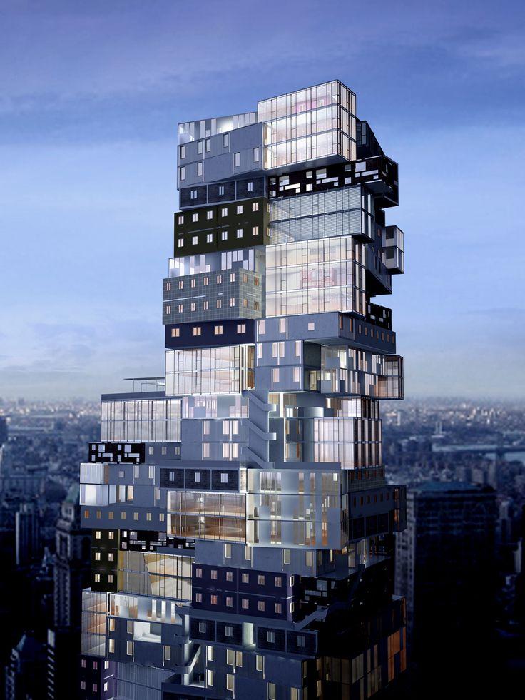 MoMA Tower - Axis Mundi