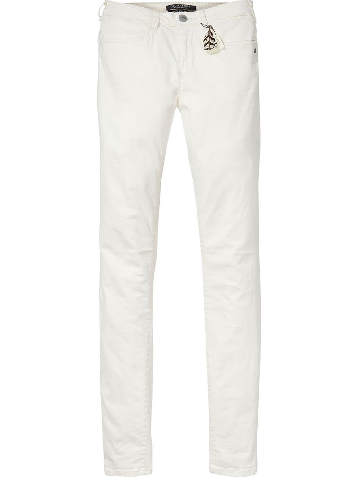 from Scotch & Soda · La Bohemienne - Garment Dyed Pants | Skinny Fit