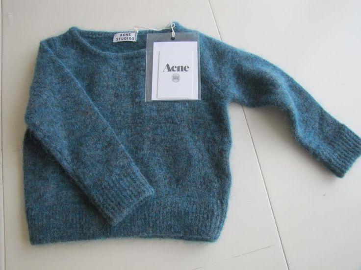 Acne tröja i Mohair Strl 86/92