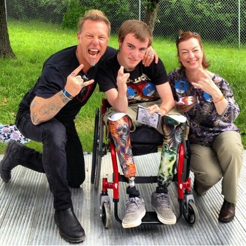 Výsledek obrázku pro metallica wheelchair fan