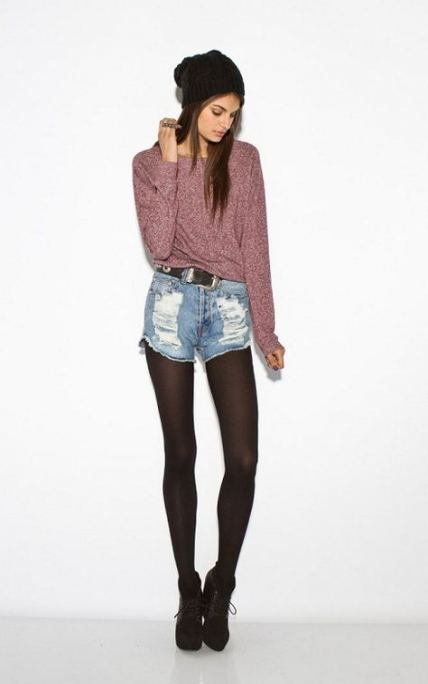 65 trendy fashion edgy grunge hipster tights