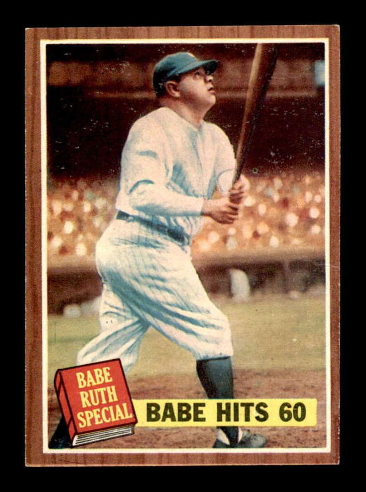 1962 topps 139 babe ruth special 5 exmt x1397896