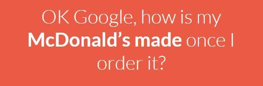 McDonald's Know Your Food.
