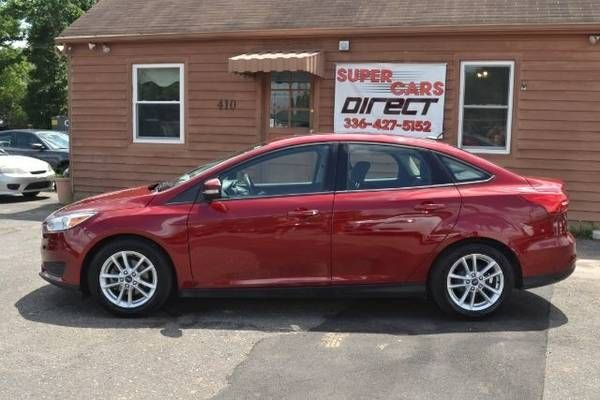 2015 Ford Focus $45 Per Week Payments We Finance Here! Cheap Cars (Ford_Focus_SE_4dr)
