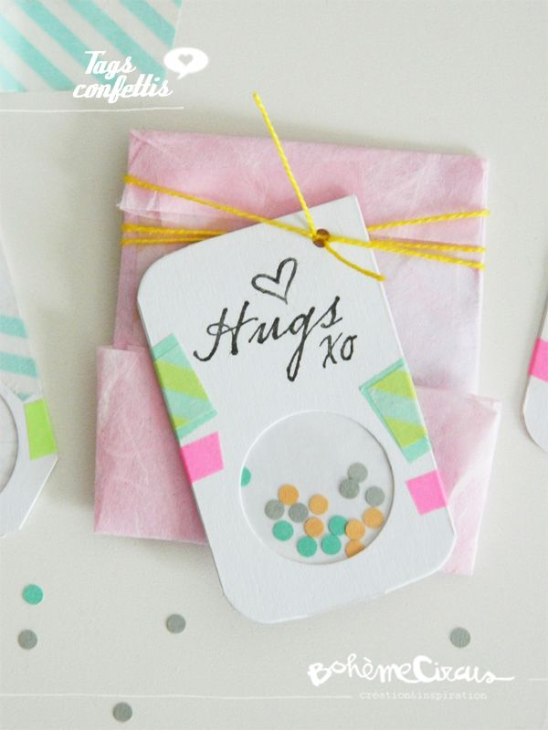 53 best diy by bohme circus images on pinterest envelope tags confettis diy by bohme circus wrapping solutioingenieria Images