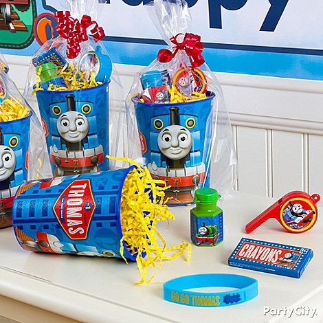 Thomas the Tank Engine Party Ideas: Favors - Click to View Larger