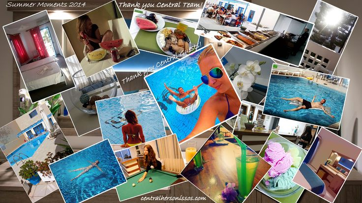 Central Hersonissos Moments of 2014! Summer Photo Collage!